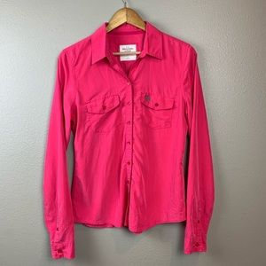 Abercrombie & Fitch Button Up Shirt, Large